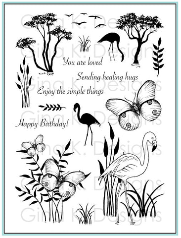 Clear Stamps Tropical Tidings