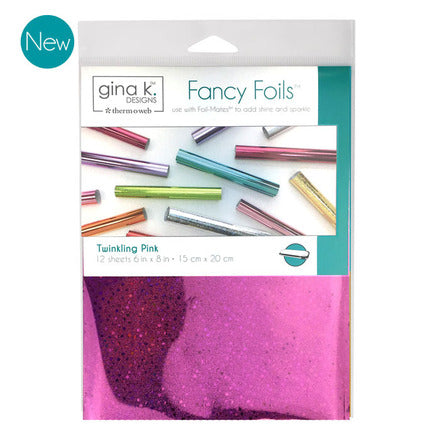 GKD Fancy Foils - Twinkling Pink