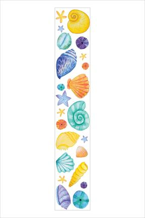 Painted Seashells Washi Tape