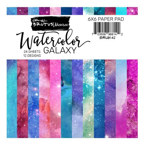 Watercolor Galaxy Paper Pad