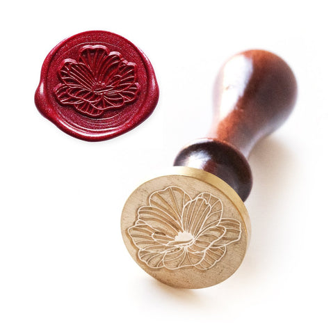 Wax Seal Stamp - Delicate Blossom