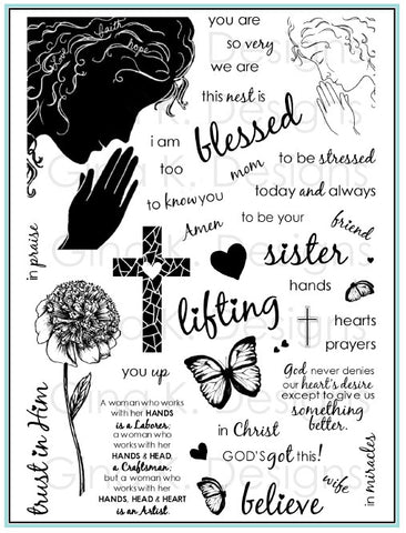 Clear Stamps - Women of Faith