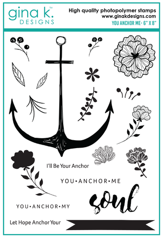 Clear Stamps You Anchor Me Stamp Set