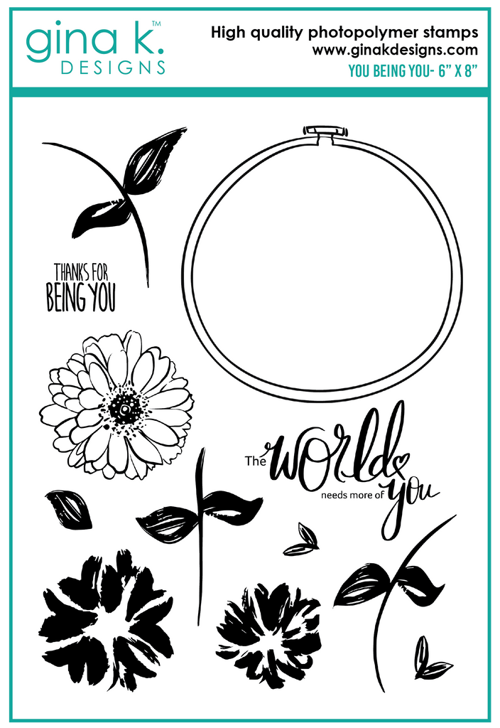 Clear Stamps You Being You Stamp Set