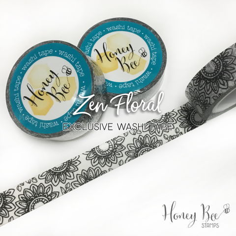 Zen Floral Exclusive Washi Tape