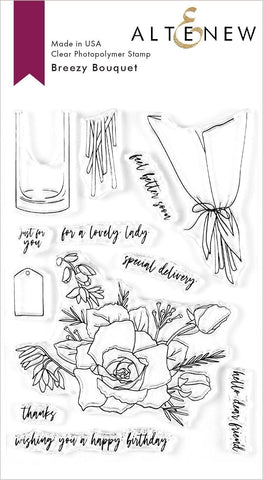 Breezy Bouquet Stamp Set
