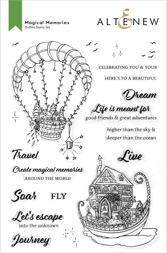 Magical Memories Stamp Set