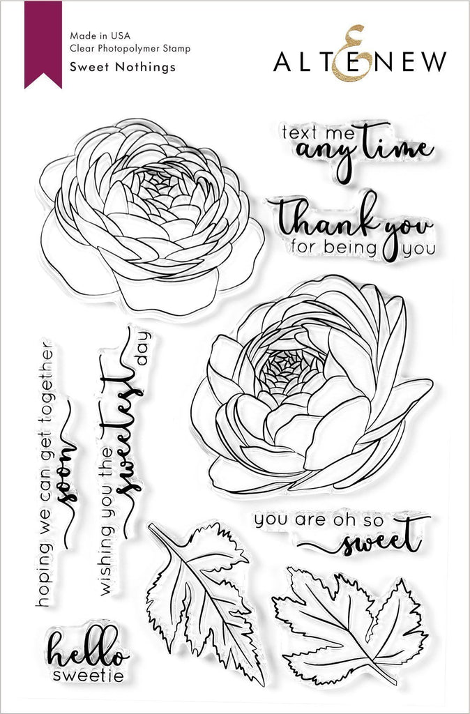 Sweet Nothings Stamp Set