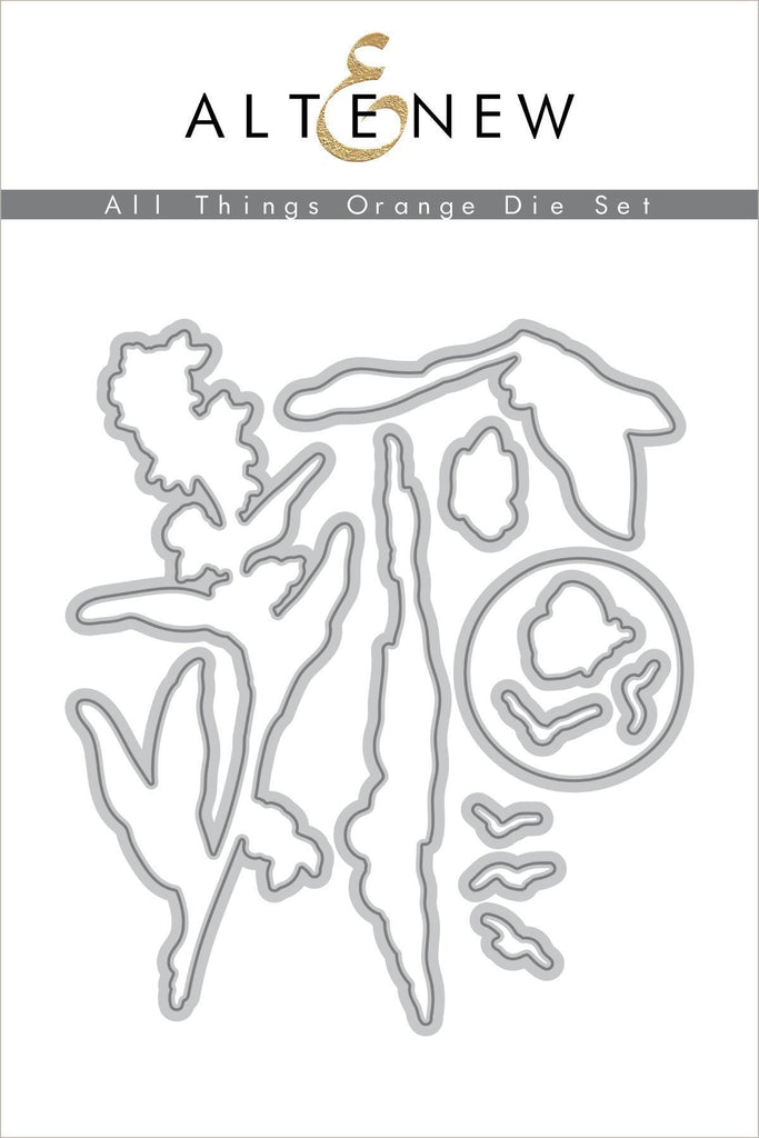 All Things Orange Die Set