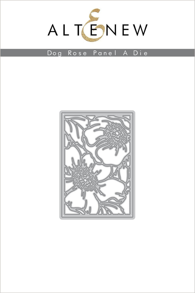 Dog Rose Panel A Die