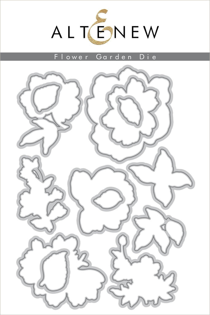 Flower Garden Die Set