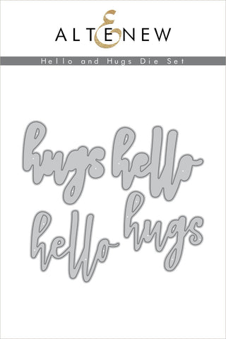Hello and Hugs Die Set
