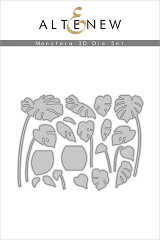 Monstera 3D Die Set