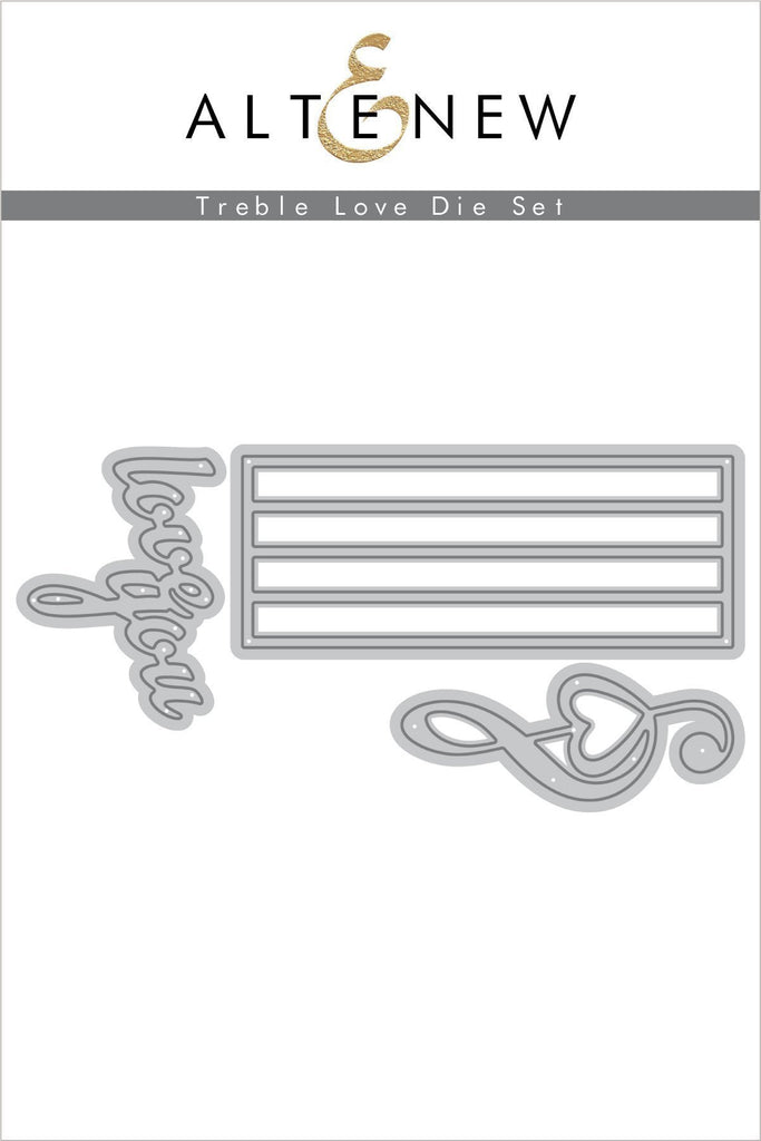 Treble Love Die Set