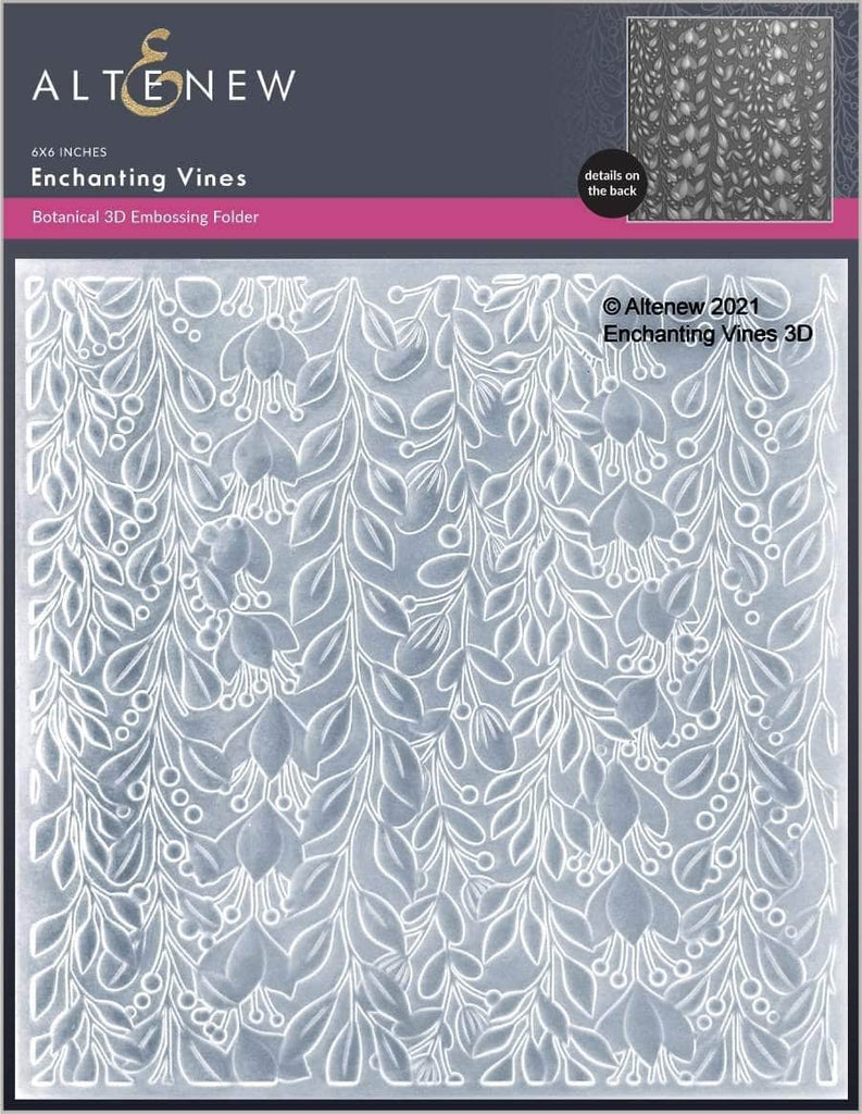 Enchanting Vines 3D Embossing Folder
