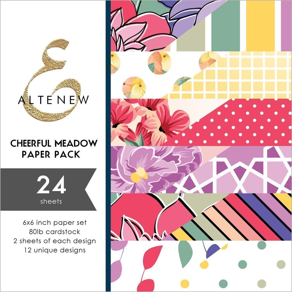 Cheerful Meadow 6x6 Paper Pack
