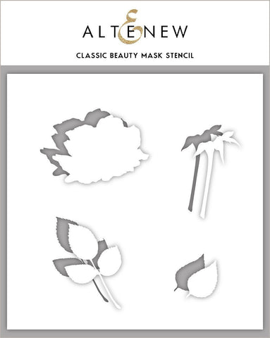Classic Beauty Mask Stencil