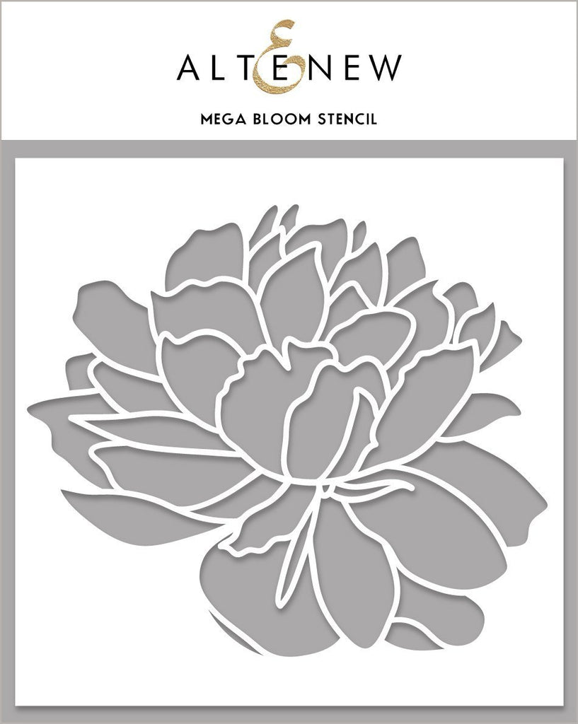 Mega Bloom Stencil