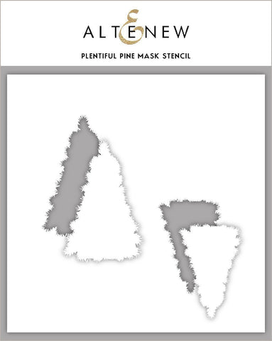 Plentiful Pine Mask Stencil
