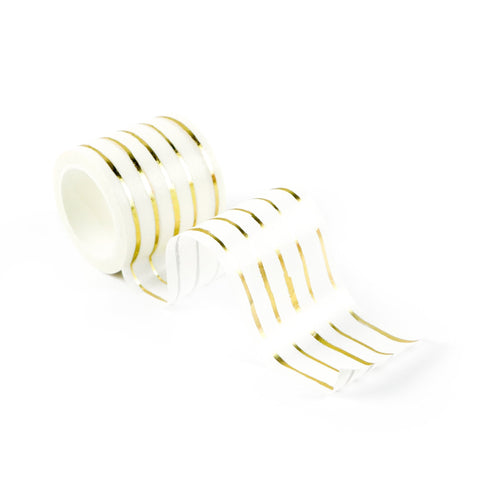 Golden Strokes Washi Tape