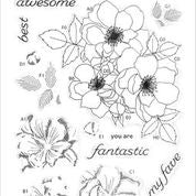 Fairy Tale Florals Stamp Set