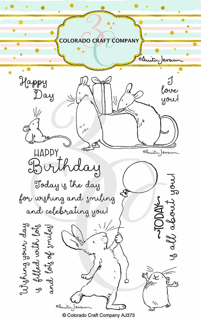 Anita Jeram - Birthday Wishing