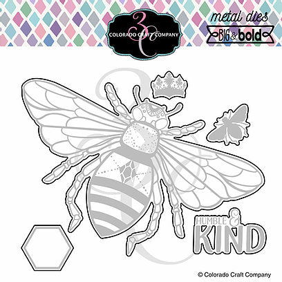 Big & Bold - Honey Bee Die
