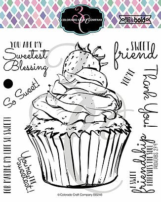 Big & Bold - Sweetest Friend Cupcake