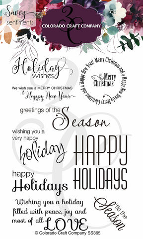 Savvy Sentiments - Holiday Wishes