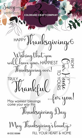 Savvy Sentiments - Truly Thankful