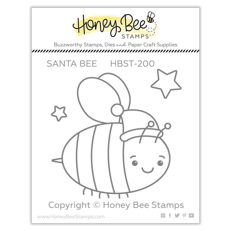 Santa Bee Stamp Set
