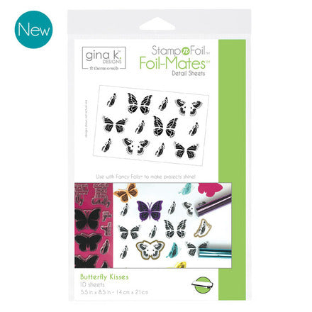 Foil Mates Detail Butterfly Kisses