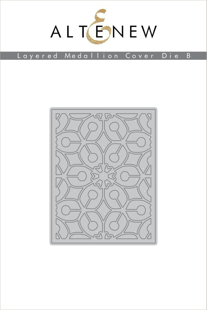Layered Medallions Cover Die B