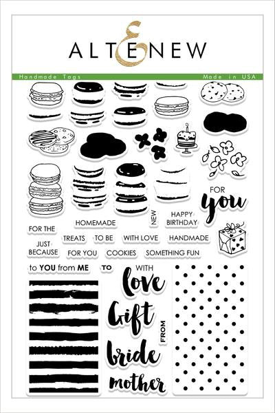 Handmade Tags Stamp Set
