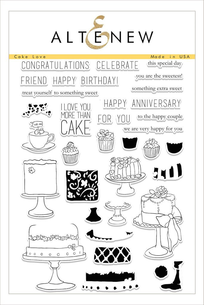 Cake Love Stamp Set