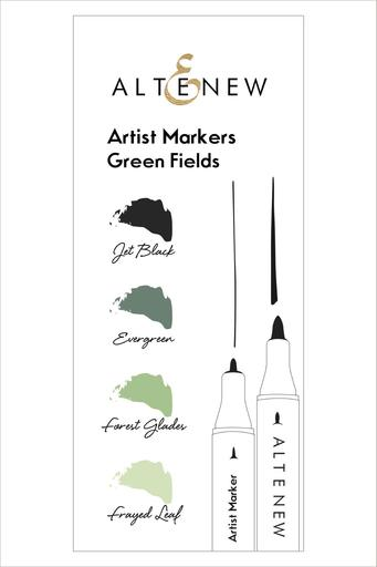 Artist Markers Green Fields Set