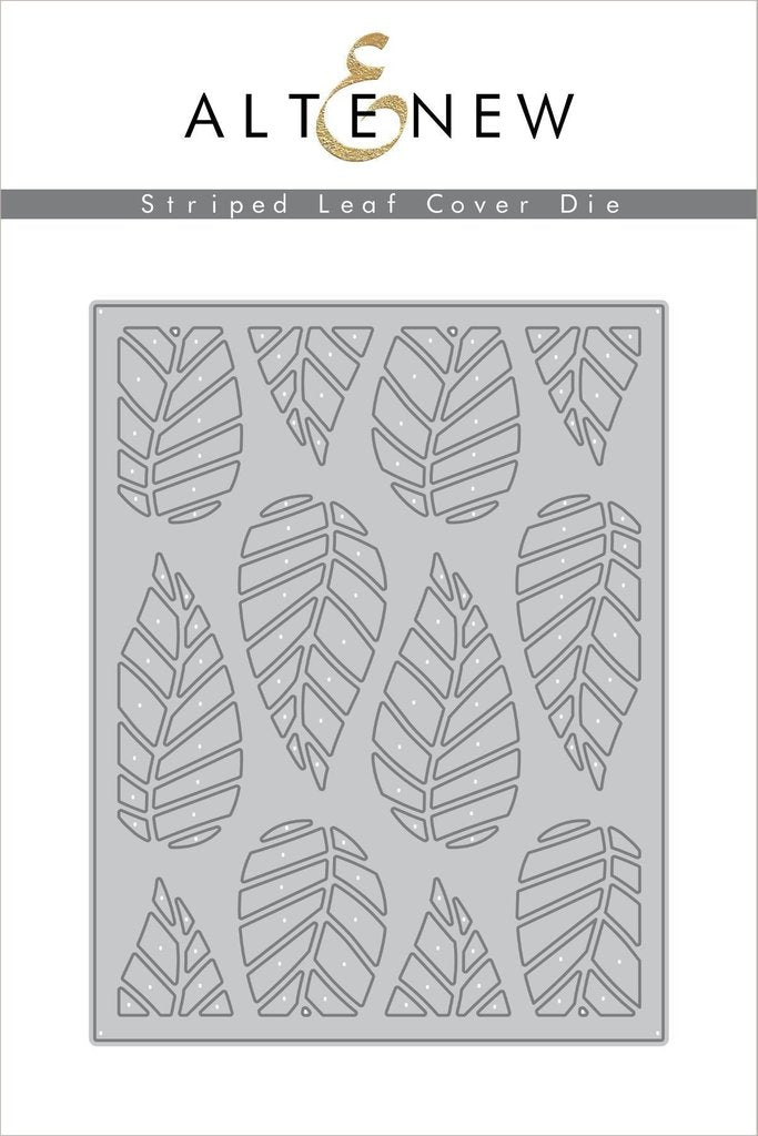 Striped Leaf Cover Die