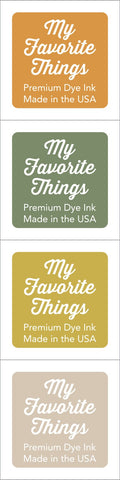 Premium Dye Ink Cubes - Set 5