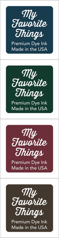 Premium Dye Ink Cubes - Set 7