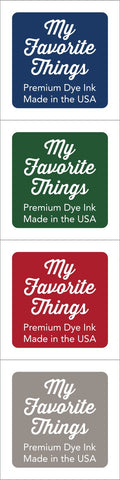 Premium Dye Ink Cubes - Set 11