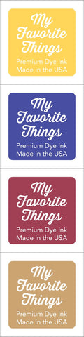 Premium Dye Ink Cubes - Set 19