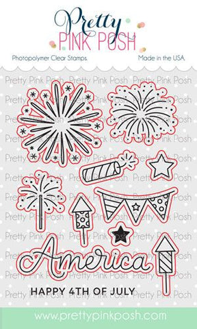 4th Of July Coordinating Die Set