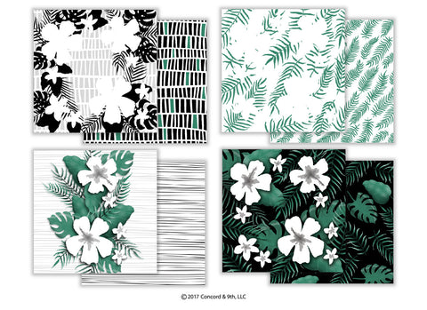 Aloha Fill-in Patterned Paper