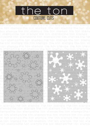 Snowflake Layering Coverplate Dies A+B