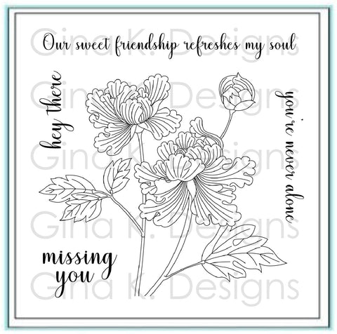 Clear Mini Stamps Sweet Friendship Stamp Set