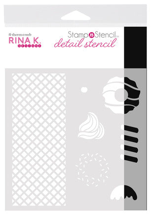 Rina K Designs Sweet Stuff Detail Stencil