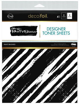 Designer Toner Sheets - Paint Brush