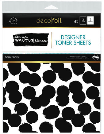 Designer Toner Sheets - Double Dots