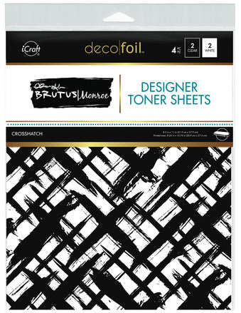 Designer Toner Sheets - Crosshatch