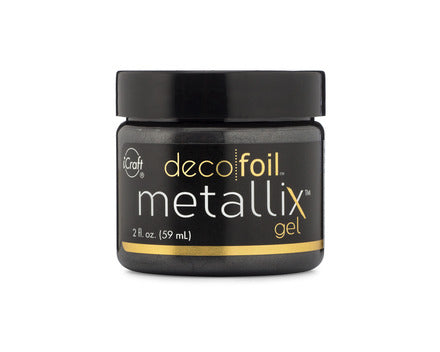 Deco Foil Metallix Gel 2oz - Black Ice